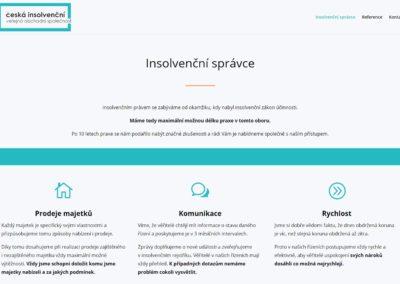 Tvorba webových stránek civos.cz