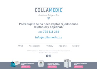 Tvorba e-shopu pro Collamedic