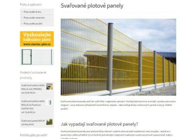 Tvorba e-shopu dum-plotu.cz