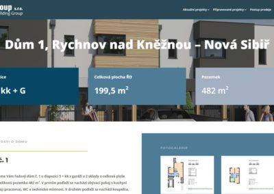 Tvorba webových stránek i-pozemky.cz