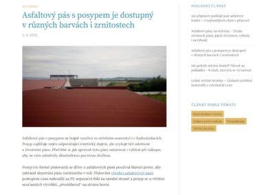 Tvorba webových stránek izolinka.cz