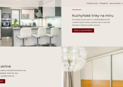 Tvorba webových stránek jedlinsky-interiery.cz