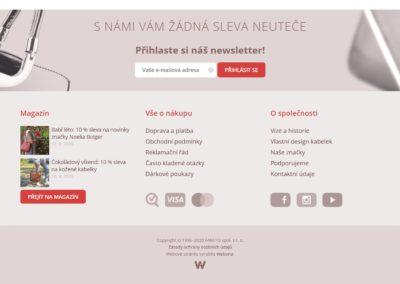 Tvorba e-shopu kabelka.cz