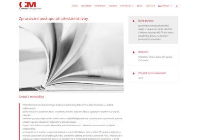 Tvorba webových stránek contractmanagement.cz